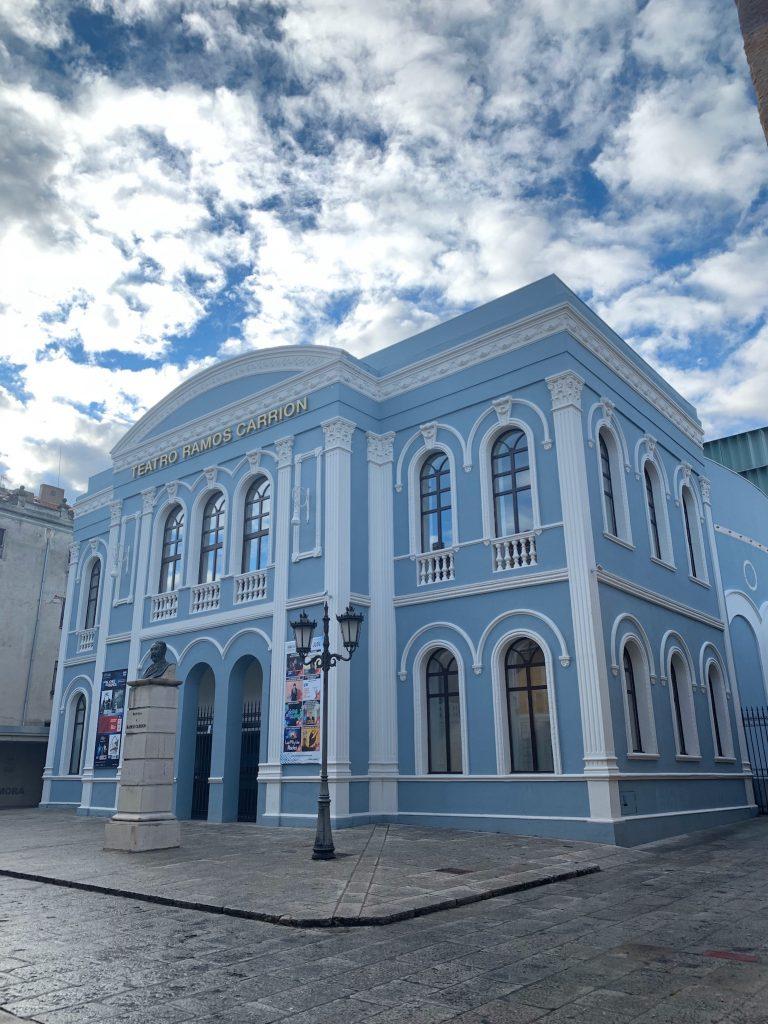 The Blue Theatre - Zamora