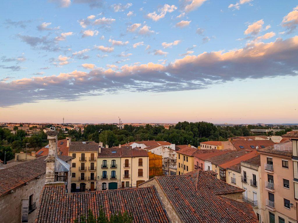Zamora Rooftops At Dusk