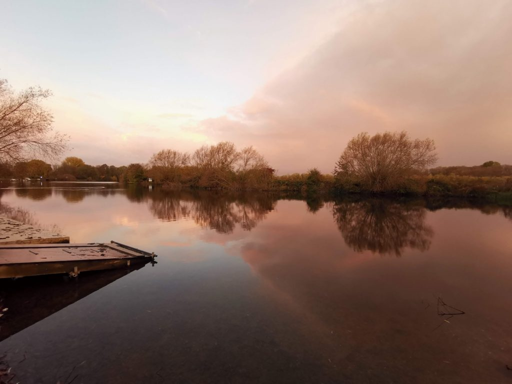 The Jetty at Dusk - Thames Path