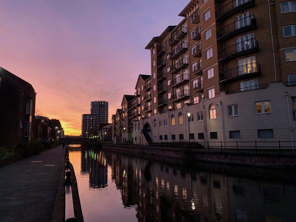 Kennet Canal Sunset