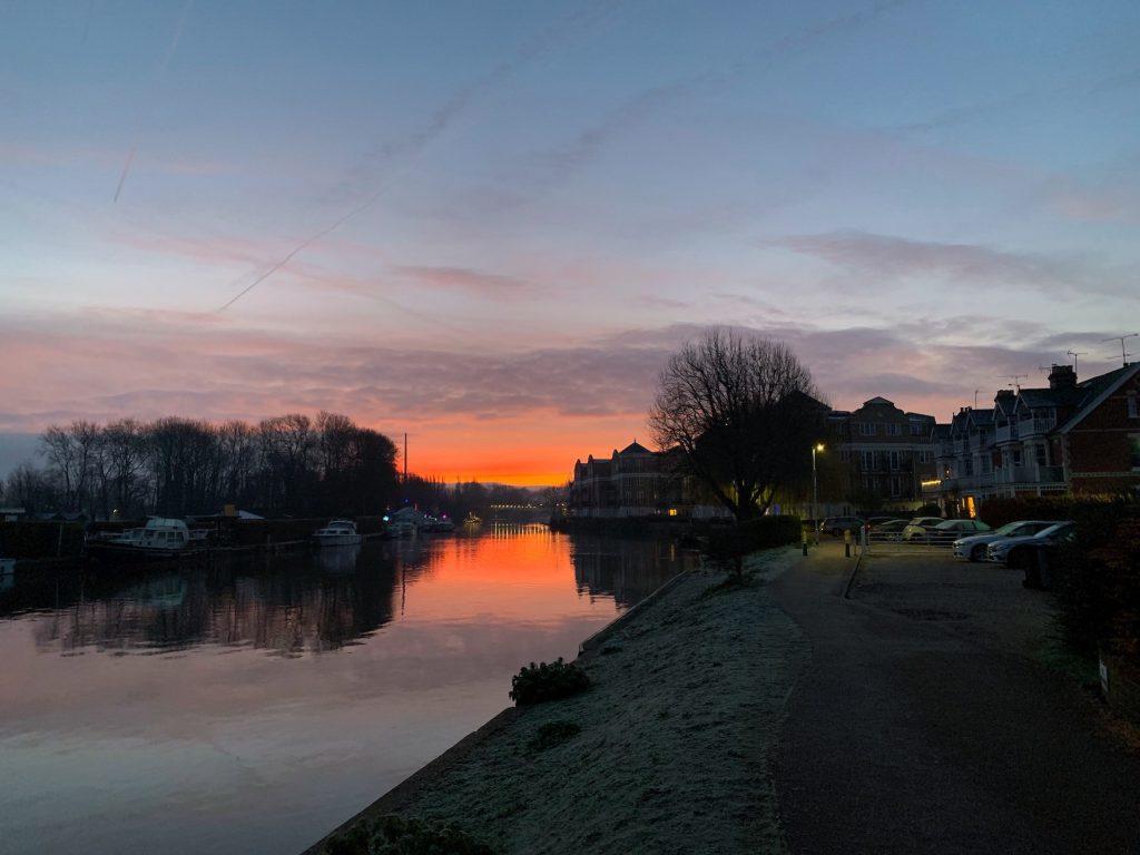 Thames Path Sunrise II